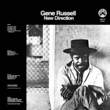 GENE RUSSELL / NEW DIRECTION (Transparent clear with heavy black swirl vinyl ) -LP-