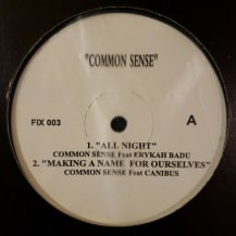 COMMON SENSE / ALL NIGHT (USED)