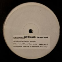V.A. / PLANET E PRESENTS 2000 BLACK:THE GOOD GOOD -2LP- (USED)