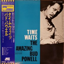 BUD POWELL AMAZING / TIME WAITS THE AMAZING BUD POWELL VOL.4 -LP- (USED)