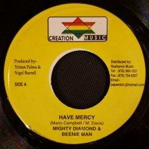 MIGHTY DIAMONDS & BEENIE MAN / HAVE MERCY (USED)