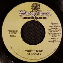 BASCOM X / YOU'RE MINE (USED)
