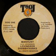 LOVINDEER & SHABBA RANKS / MANHUNT (USED)