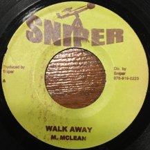 M. MCLEAN / WALK AWAY (USED)