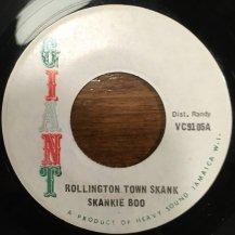 SKANKIE BOO / ROLLINGTON TOWN SKANK (USED)