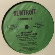 SPYDER-D / BIG APPLE RAPPIN' (NATIONAL RAPPIN' ANTHEM) (USED)