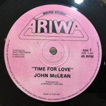 John Mclean / Time For Love