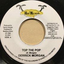 DERRICK MORGAN / TOP THE POP (USED)