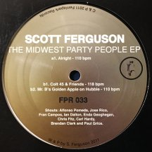 SCOTT FERGUSON / MIDWEST PARTY PEOPLE EP (USED)
