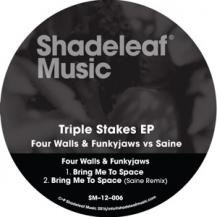 FOUR WALLS & FUNKY JAWS VS SAINE / TRIPLE STAKES EP
