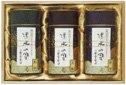 高級煎茶・玉露詰合せ<化粧絵付け缶ギフト> T-04