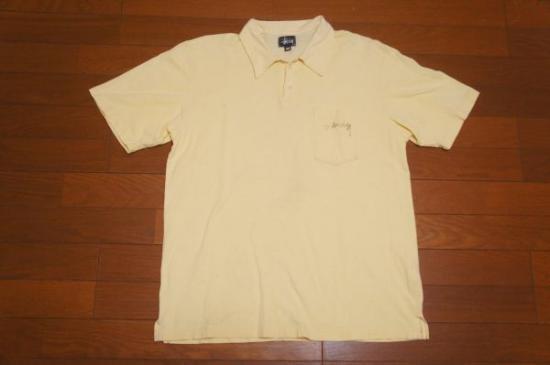 USA製 OLD STUSSY 両面ポロシャツ M/オールド ステューシー