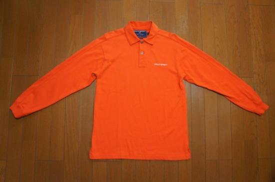 ポロスポーツオレンジラガーシャツS/ラルフローレンrugby RRL 92