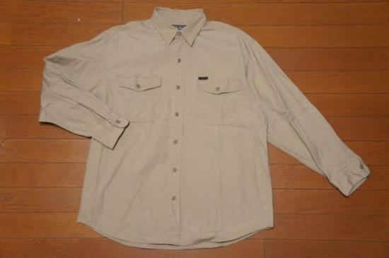 ポロスポーツ ベージュシャツ M/ワークシャツ ラルフローレンRRL