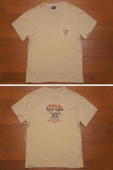ラルフローレン ポケット付きTシャツ L/RRL POLOSPORT rugby9293