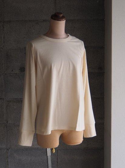 FREEMAN--B/Organic×超長綿Tシャツ【長袖】ベージュ