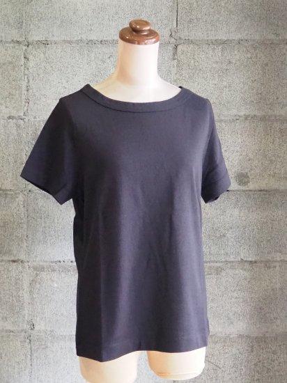 nuuno./Tシャツ【半袖】綿黒