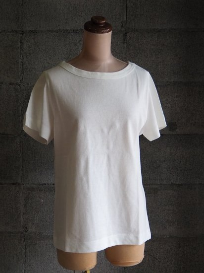 nuuno./Tシャツ【半袖】綿白
