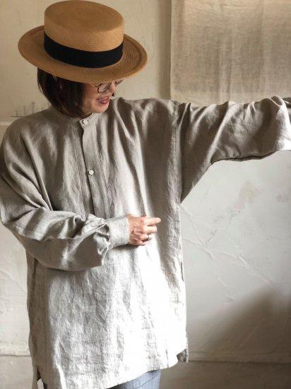 【10/2まで期間限定販売】AN Linen/ユニセックスシャツPorter プレミアムリネンlin