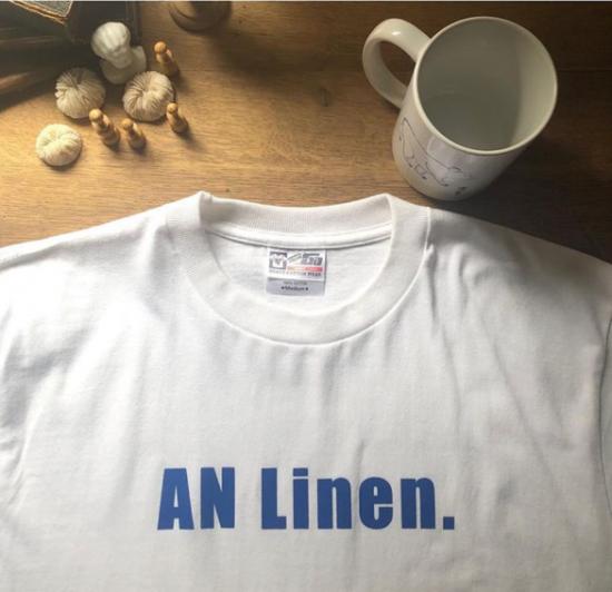 【10/2まで期間限定販売】AN Linen/AN LinenオリジナルTシャツ