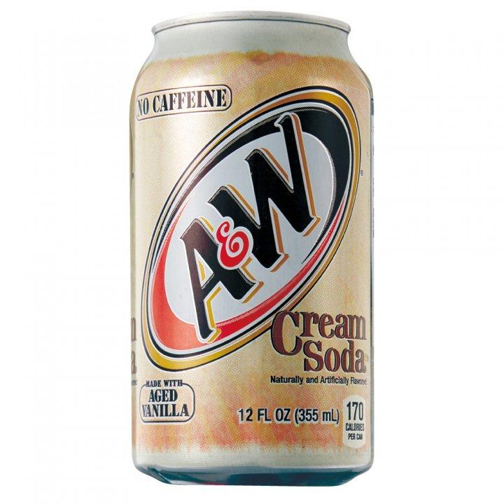 A&W クリームソーダ 355ml×24本