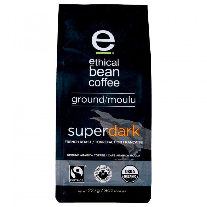 エシカルビーンコーヒー スーパーダーク 227g×6個