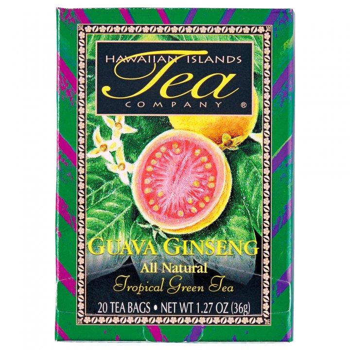 ハワイ・アイランド・ティー・カンパニー グアバ・ジンセン(緑茶) 20P×6個