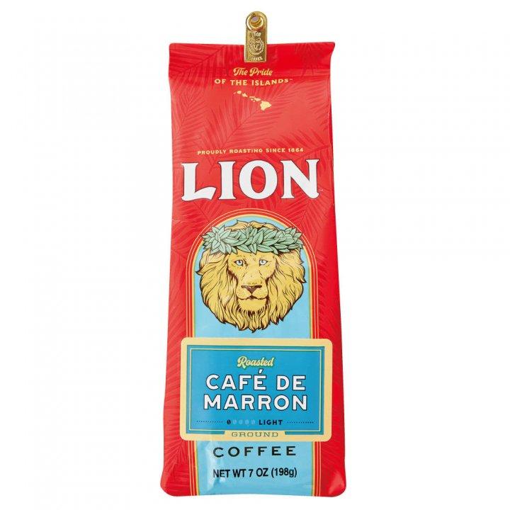 ライオンコーヒー カフェ・ド・マロン 198g×15個