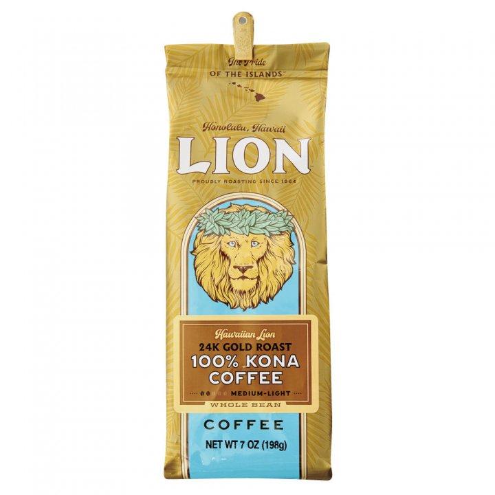 ライオンコーヒー 100%コナ 24Karat 198g×15個(豆)
