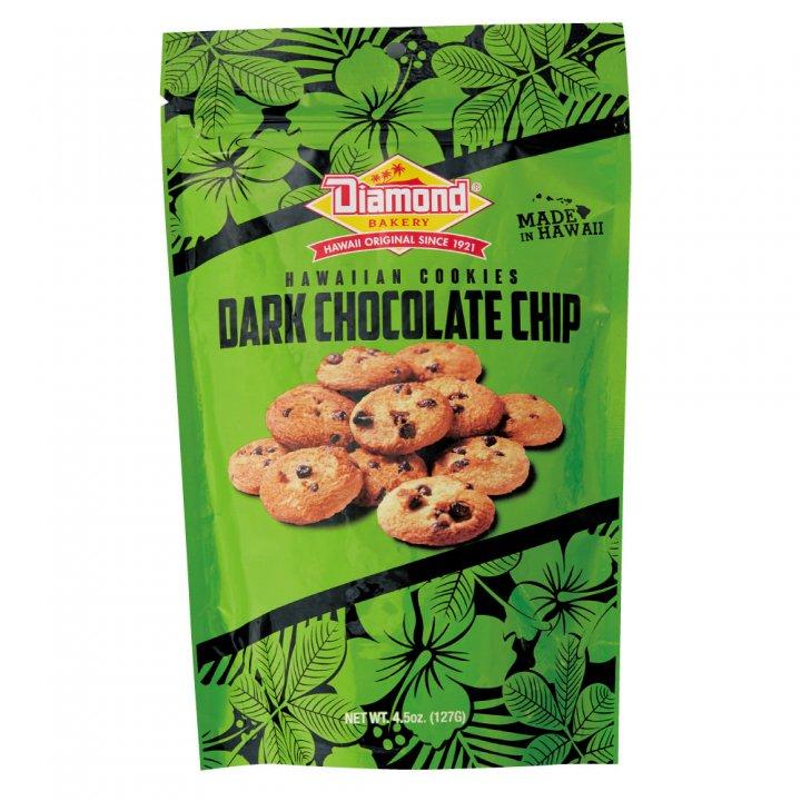 ダイアモンドベーカリー ハワイアンショートブッドクッキー ダークチョコレートチップ 127g×12個