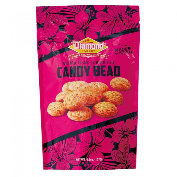 ダイアモンドベーカリー ハワイアンショートブッドクッキー キャンディービーズ 127g×12個