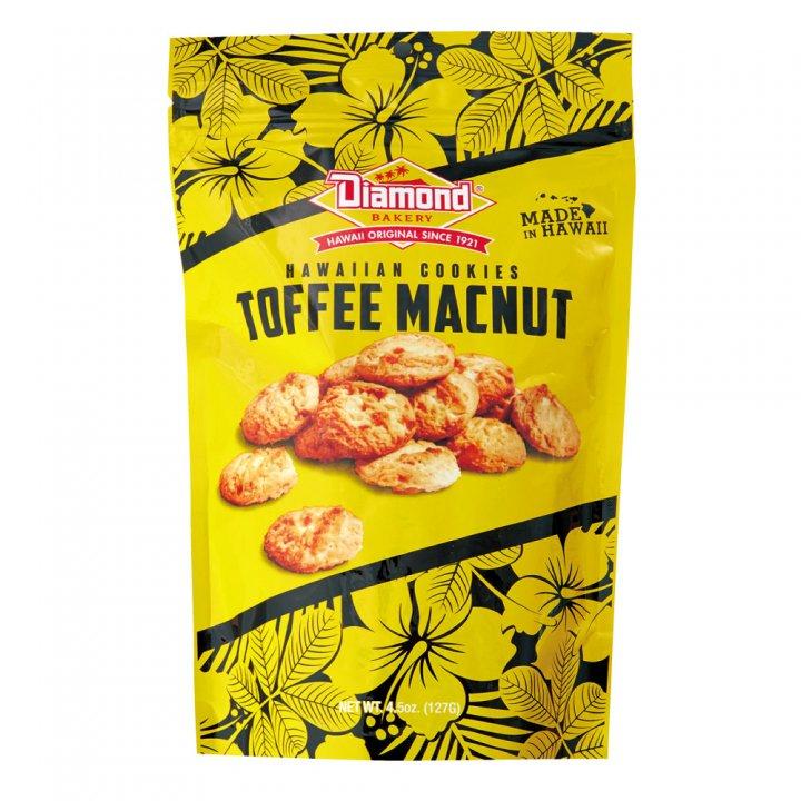ダイアモンドベーカリー ハワイアンショートブッドクッキー トフィーマカナッツ 127g×12個