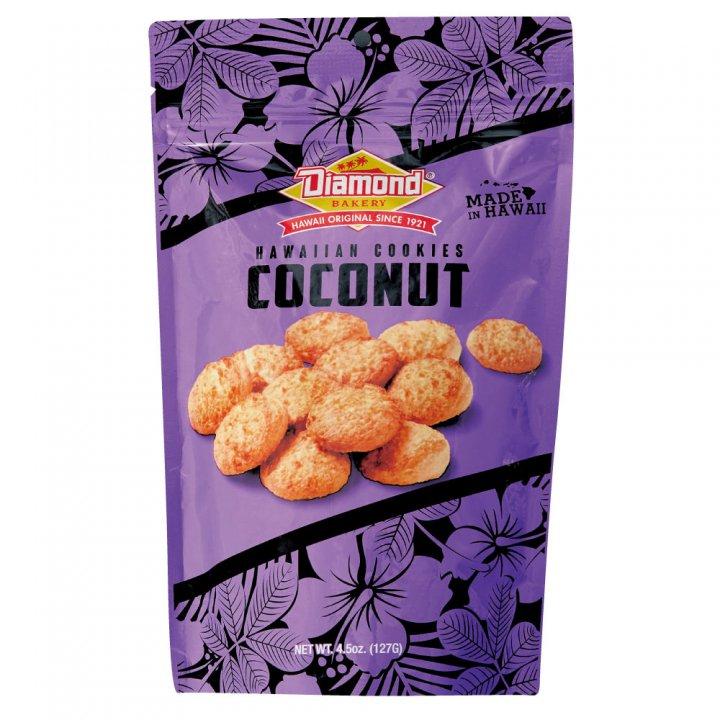 ダイアモンドベーカリー ハワイアンショートブッドクッキー ココナッツ 127g×12個