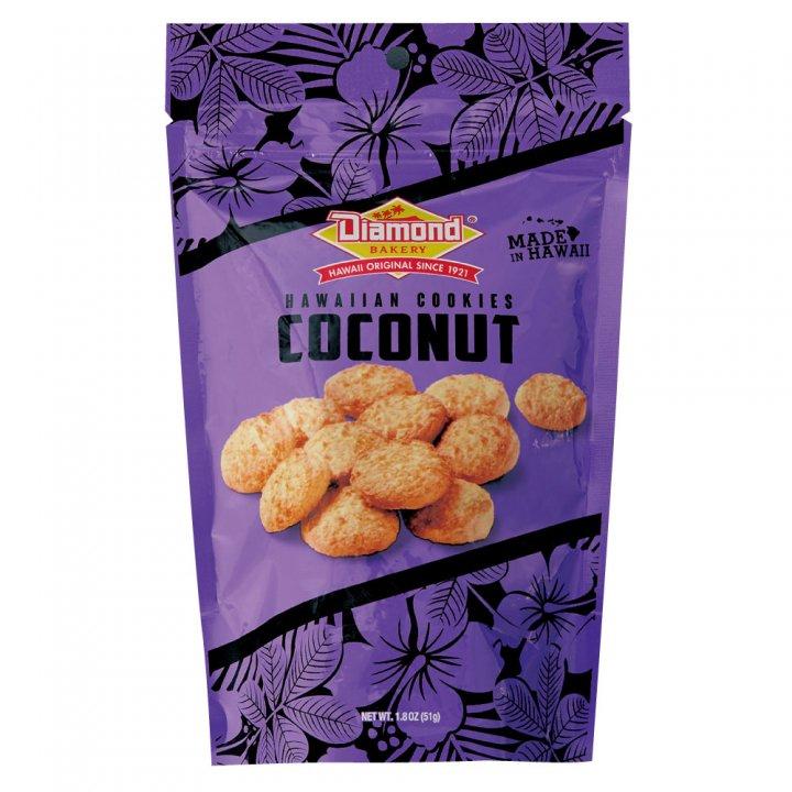 ダイアモンドベーカリー ハワイアンショートブッドクッキー ココナッツ 51g×12個