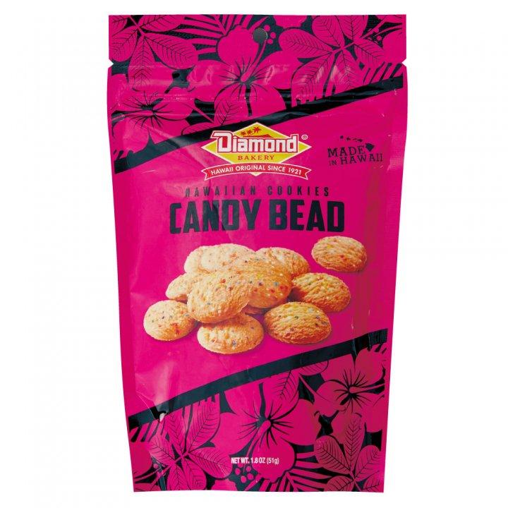 ダイアモンドベーカリー ハワイアンショートブッドクッキー キャンディービーズ 51g×12個