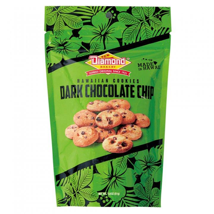 ダイアモンドベーカリー ハワイアンショートブッドクッキー ダークチョコレートチップ 51g×12個