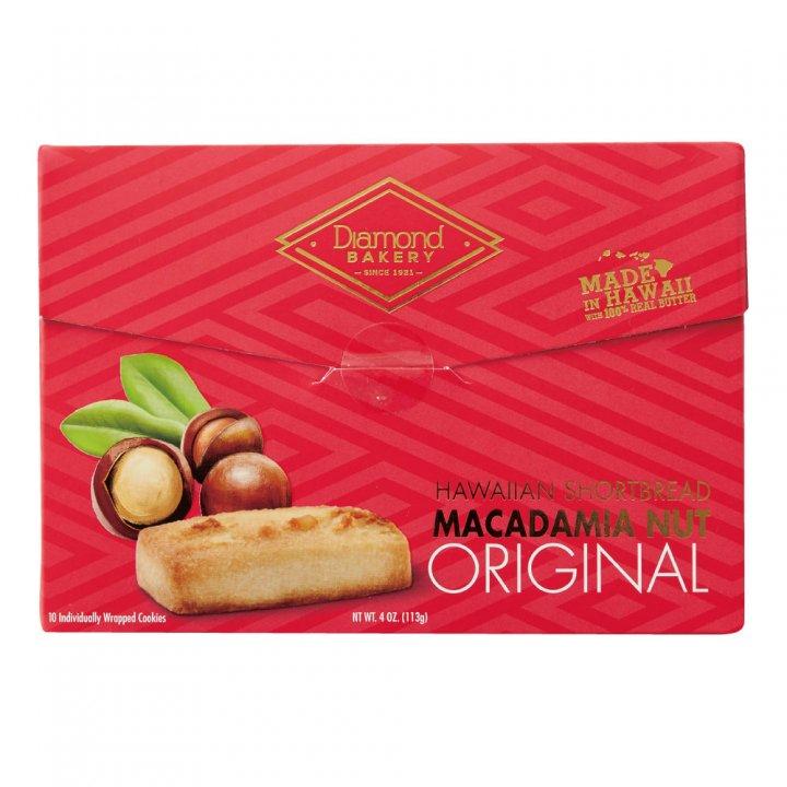 ダイアモンドベーカリー マカダミアナッツショートブレッドクッキー オリジナル 113g×12個