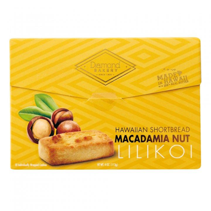 ダイアモンドベーカリー マカダミアナッツショートブレッドクッキー リリコイ 113g×12個