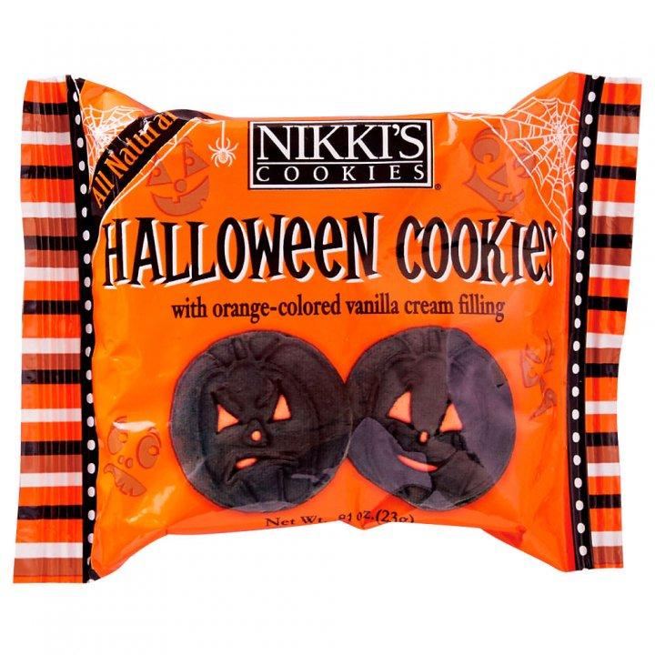 ニッキーズクッキー ハロウィーン スナックパック 23g×48個