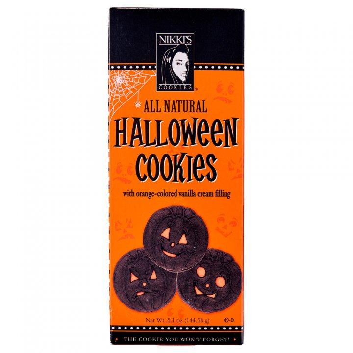 ニッキーズクッキー ハロウィーン ボックス 144.58g×12個