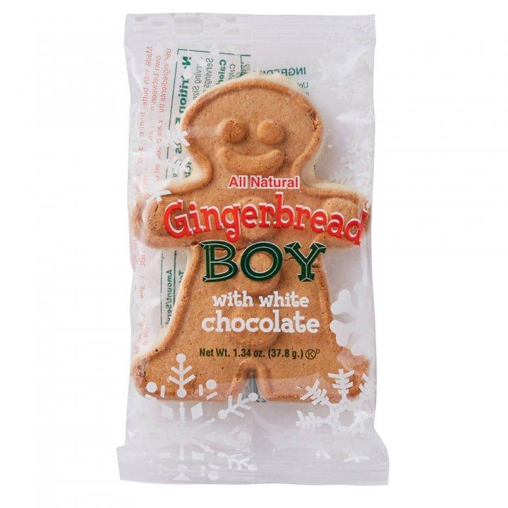 ニッキーズクッキー ジンジャーブレッドボーイ シングル 37.8g×48個