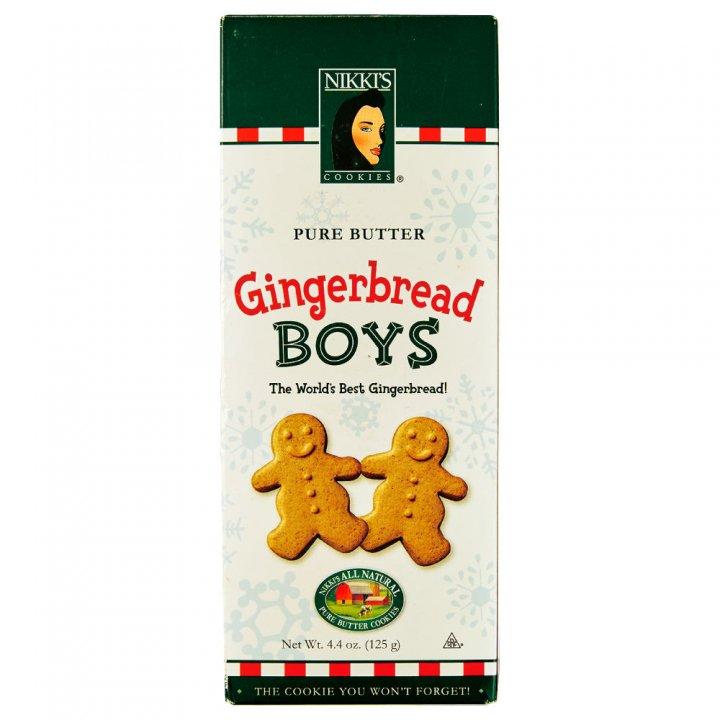 ニッキーズクッキー ジンジャーブレッド ギフトボックス 125g×12個