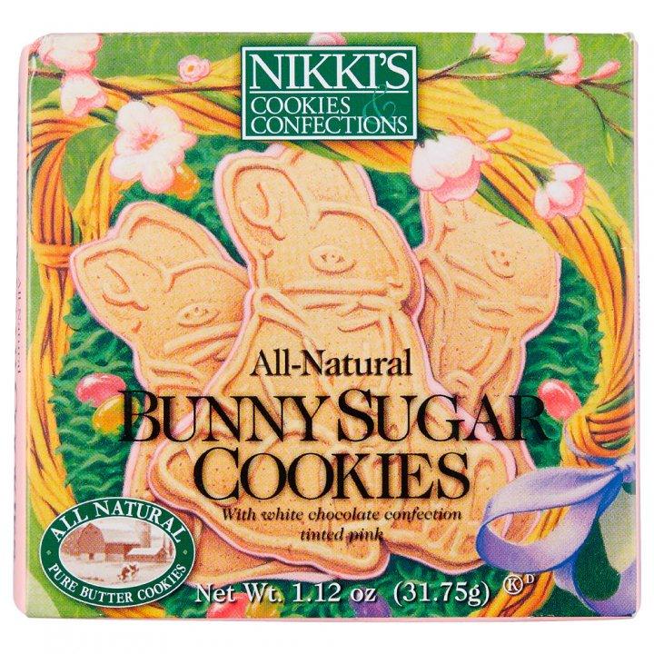 ニッキーズクッキー バニーシュガークッキー ボックス 31.75g×18個