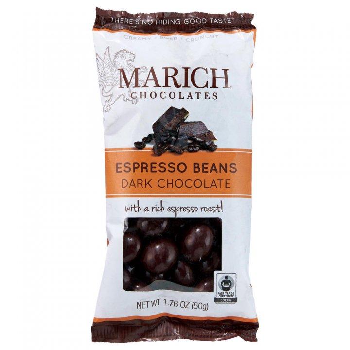 マーリッチ ダークチョコ チョコレートエスプレッソビーンズ 50g×24個