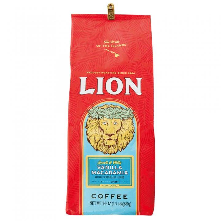 ライオンコーヒー バニラマカダミア徳用 680g×10個(粉)