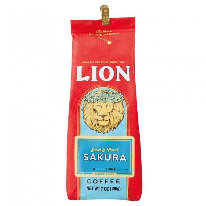 ライオンコーヒー サクラ 198g×15個(粉)