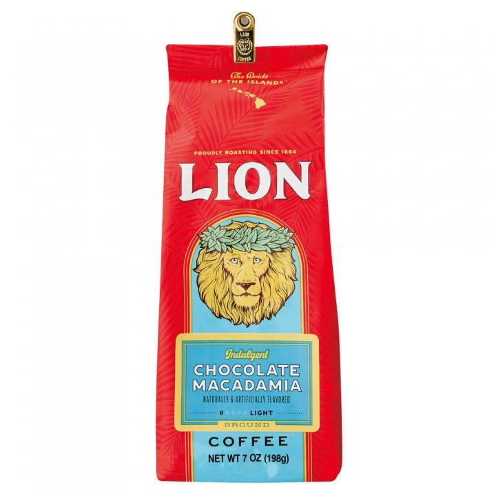 ライオンコーヒー チョコマカダミア 198g×15個(粉)