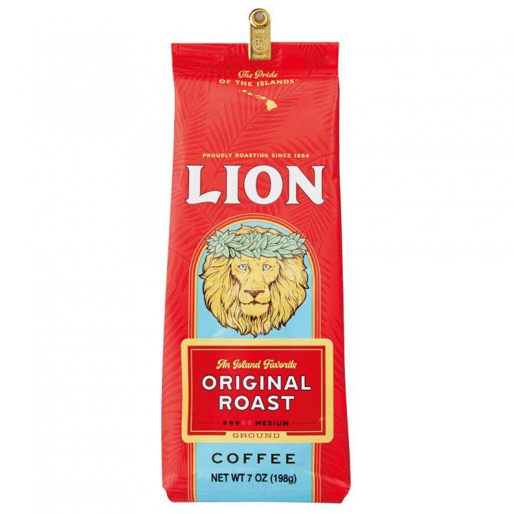 ライオンコーヒー オリジナルライオンコーヒー 198g×15個(粉)