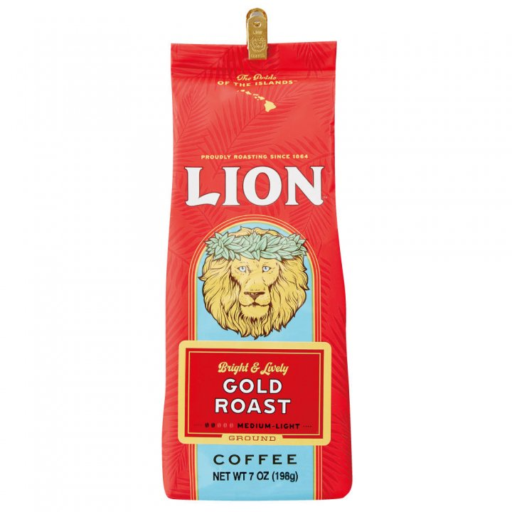 ライオンコーヒー ライオンゴールド 198g×15個(粉)