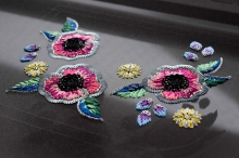 リュネビル刺繍のポシェット・レシピ書籍化作品